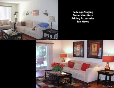 What's The Difference Between Home Staging And A Decorator Magnificent Living Room Staging Remodelling